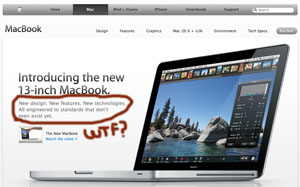 Macbook... WTF?